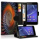 wicostar Wallet Book Style Flip Handy Tasche Case Schutz Hülle Schale Motiv Etui für HTC One A9 - Variante UMV38 Design8
