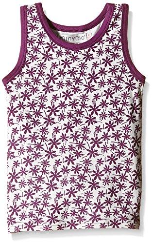 Minymo Chen 66 -undershirt Print/stripe-Vestaglia Bambina    Multicolored (White) 12 anni