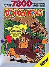Donkey Kong Atari 7800 2600 Video Game Cartridge New