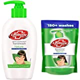 Lifebuoy Nature Germ Protection Handwash 190 ml With Refill Pouch 185 ml Free
