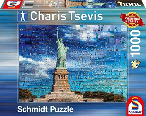 Schmidt Charis Tsevis New York Premium Quality Jigsaw Puzzle (1000 pieces)