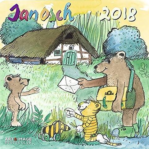 Janosch 2018 - Kinderkalender, Oh wie schön ist Panama, Kalender für Kinder, Broschürenkalender - 30 x 30 cm