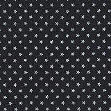 Fabulous Fabrics Jeans Sterne 3 schwarz — Meterware ab