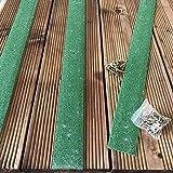 Antirutsch-Leisten für Bodendielen, 1200 x50mm, grün