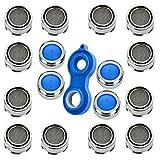 16 Stück Strahlregler M24 Mischdüse Luftsprudler Siebe für Wasserhahn Mischdüse mit Edelstahl-Filter + Mischdüsenschlüssel