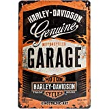 Nostalgic-Art 22238 Harley-Davidson - Garage, Blechschild 20x30 cm