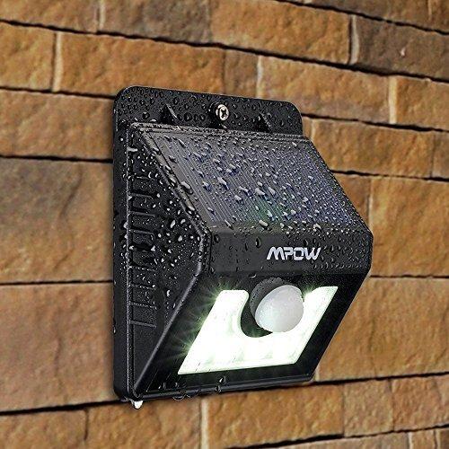 Mpow Solarleuchte 8 LED Solarlampe Sicherheits-, Bewegungs Licht Sensor mit 3 Intelligenten Modi für Garten usw. - 7