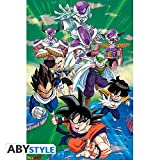 ABYstyle Abysse Corp_ABYDCO490 - Póster del Grupo Dragon Ball Freez,...