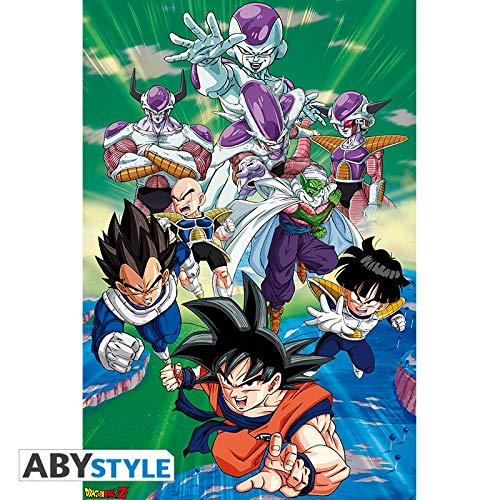 ABYstyle Abysse Corp_ABYDCO490 - Póster del Grupo Dragon Ball Freez, 91,5 x 61 cm