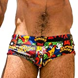 Taddlee - Costume da bagno da uomo, tipo boxer corto - X-Large