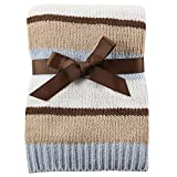 Hudson Baby Striped Chenille Blanket - L...