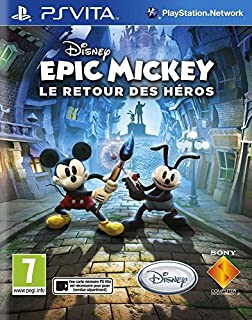 Disney Epic Mickey : le retour des Héros (B00C7WNUFQ) | Amazon price tracker / tracking, Amazon price history charts, Amazon price watches, Amazon price drop alerts
