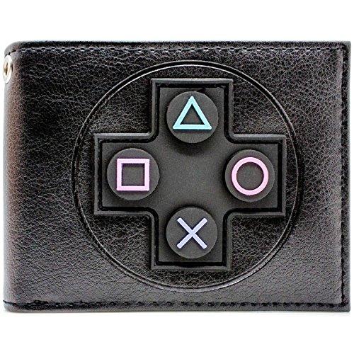 (Sony Playstation Regler Schwarz Portemonnaie Geldbörse)
