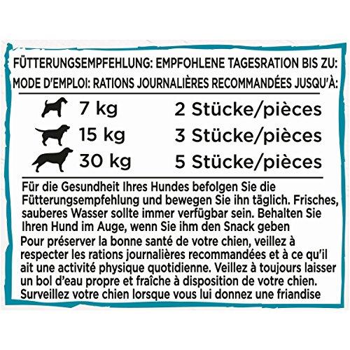 Beneful Leckere Snackbürste Hundesnack, Milch und Calcium, 6er Pack (6 x 130 g) - 3