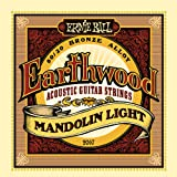 Ernie Ball 2067 Earthwood Jeu de cordes pour Mandoline Light