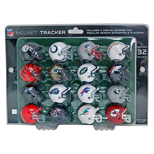 NFL Pro Football Helmet Playoff Tracker Test