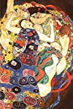 Close Up Gustav Klimt Poster Die Jungfrau (61cm x 91,5cm)
