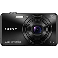 Sony DSC-WX220/B Cybershot 18.2MP Point & Shoot Digital Camera (Black)