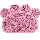 Yahee Napfunterlage Futterunterlage Futtermatte Napfuntersetzer Unterlage Haustier 40 x 30cm