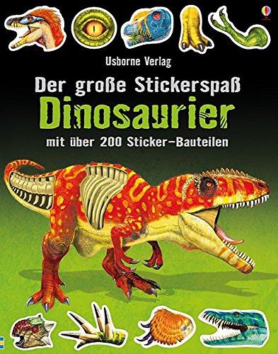 Der große Stickerspaß: Dinosaurier (Haar Direkt-kleber)