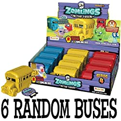 Zomlings Serie Bus 4 - 6 boquillas azar