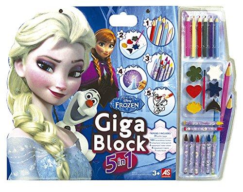 Frozen - Cuaderno gigante 5 en 1 (Cefatoys)