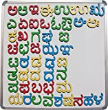 #5: Cryo Craft Wooden Magnetic Kannada Alphabets/Letters