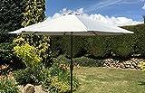 Heredeco tavolo esterno ombrellone mercato rinforzato ombrello con pulsante di inclinazione e manovella