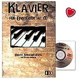 Klavier für Einsteiger mit CD - leichte Arrangements von Dietrich Kessler - 9783941312067