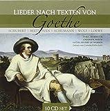 Lieder Nach Texten Von Goethe, (inkl. Hörbuch)