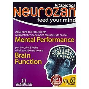 Vitabiotics Neurozan avancée Capsules 30 par paquet
