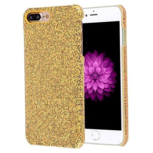 YAN Für iPhone 7 Plus Twinkling Paillette Beschichtung harten Schutzhülle ( Color : Silver ) Gold
