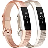 Tobfit Fitbit Alta Band Alta HR Bracelet Replacement en TPU Confortable Réglable Sport Bracelet Accessorie pour Fitbit…
