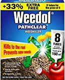 Weedol Pathclear Weedkiller Liquid Concentrate, 6 + 2 Tubes Free