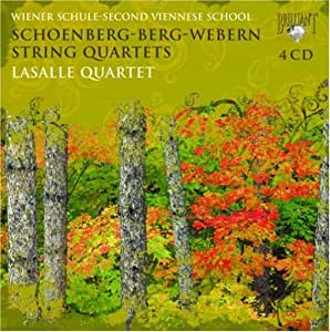 Schoenberg - Berg - Webern : Quatuors à cordes