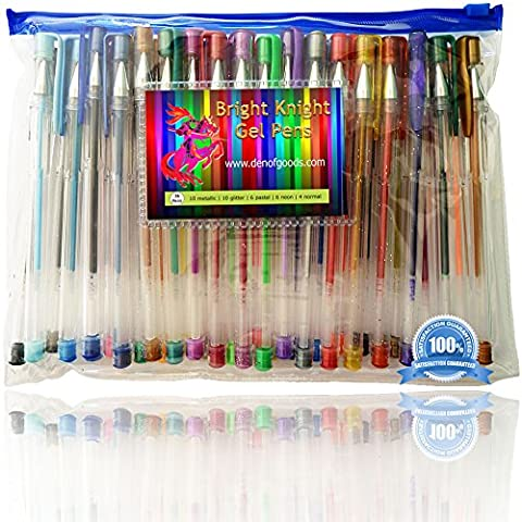 Gel Pens - 36 Gel Pen Set