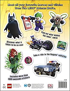 The LEGO® BATMAN MOVIE Ultimate Sticker Collection from DK Children