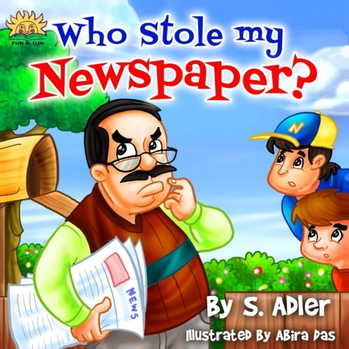 Who stole my Newspaper (Children's books FOR KIDS level-1)