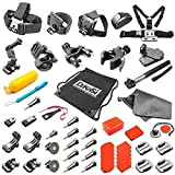 DeKaSi Accesorios Kit para Gopro HERO 5/4/3 Black Silver Session