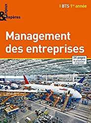 Enjeux et Repères Management BTS 1re année - Livre élève - Ed. 2014