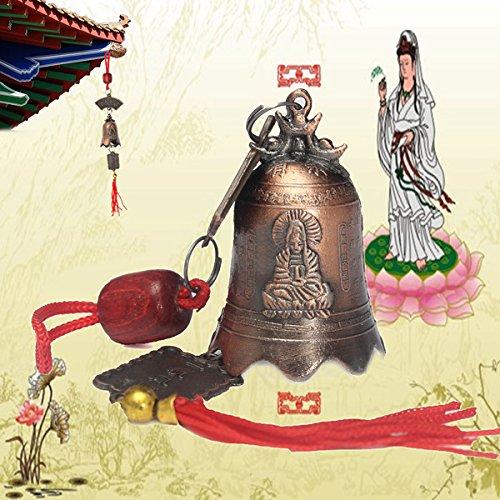 Bluelover Cina buddismo tibetano dea misericordia buddista tempio Feng Shui (Cina Tazze Set)