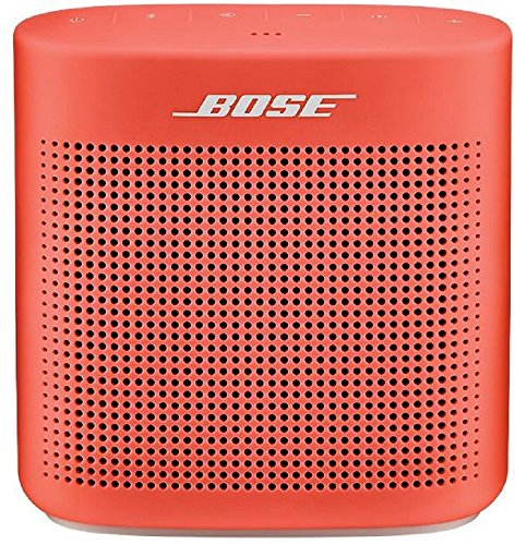 Bose® SoundLink Color II - Altavoz Bluetooth, Rojo