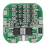 Akozon Lithium-Batterie-Schutzplatine, 4S 10A Lithium-Batterie-Schutzplatine Li-Ion-Zelle BMS-Platine