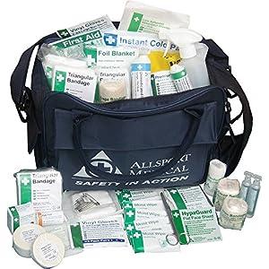 61%2BlbQsaLSL. SS300  - Safety First Aid Football First Aid Kit (Sports Bag)