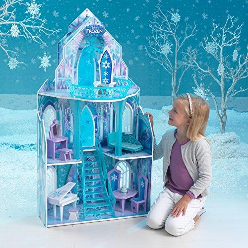 Elsa Eispalast: Eiskönigin Puppenhaus aus dem Film Frozen (inkl. Testbericht) - 4