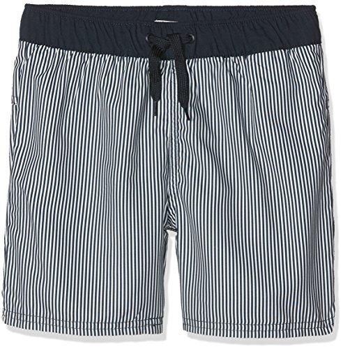NAME IT Jungen Badeshorts Nkmzox Shorts Box, Weiß (Bright White Bright White), 140 (Weißer Junge Schaufel)