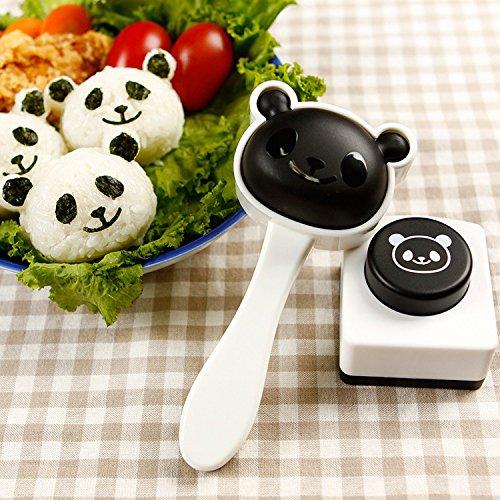 1 Satz Panda Einfach Onigiri Sushi Roll Maker Cutter Roller Reisform Matte, Sandwich Maker Backen Werkzeug Roll Sushi-matte