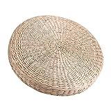 Yosoo 40cm Cojín redondo japonés Pad alfombra de suelo asiento de mesa para casa Yoga Tatami