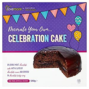 Lovemore Decorate Your Own Chocolate Celebration Cake, 540 g
