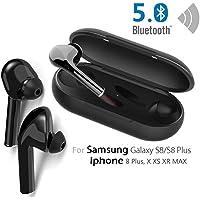 Écouteurs Bluetooth 5.0 Oreillette Bluetooth sans Fil Compatible avec la Plupart des appareils Bluetooth